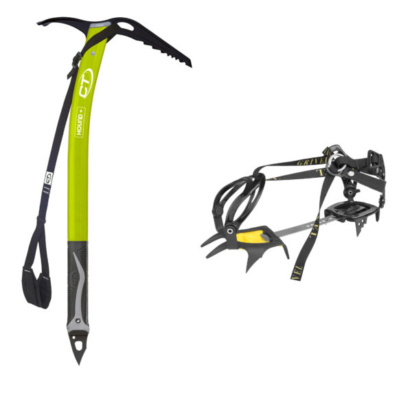 ice climbing kit