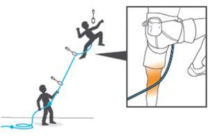 corda dietro gamba