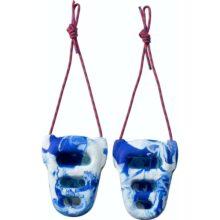 rock rings 3d blue