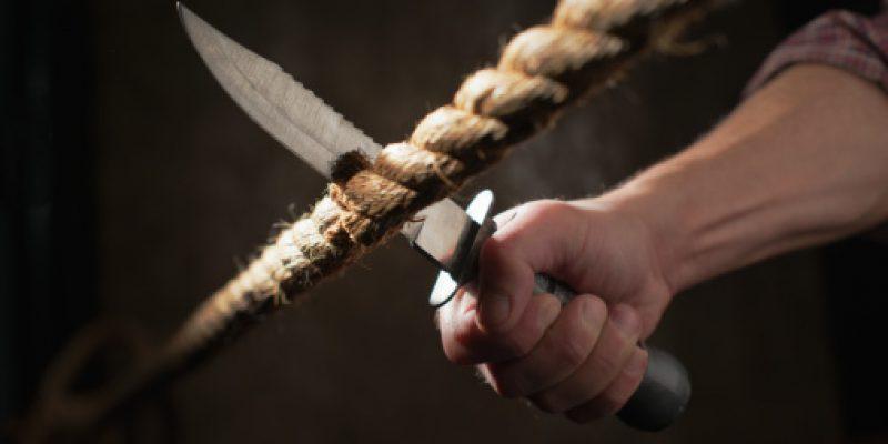 tagliare la corda
