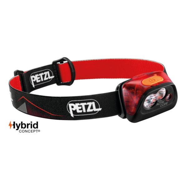 petzl actik core rosso