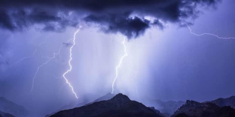 temporali e fulmini