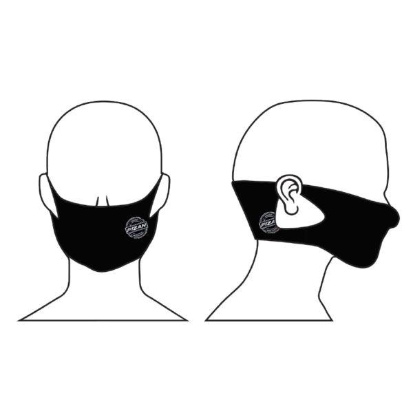 mascherina nera