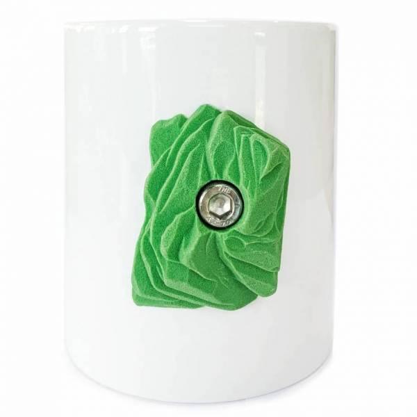 climbing mug verde
